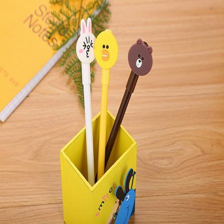 ปากกาเจล Cartoon bear duck rabbit