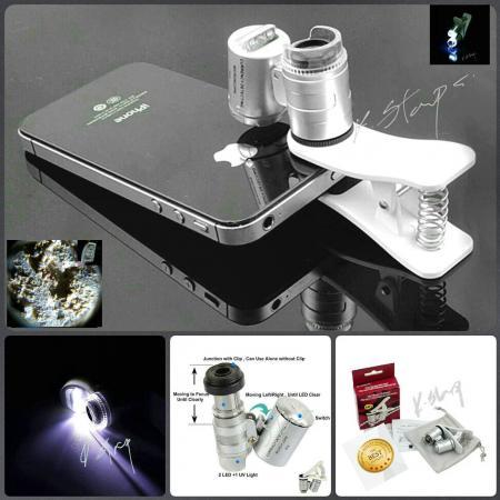 กล้องส่องขยาย Microscorpe 60 เท่ากำลังซูม