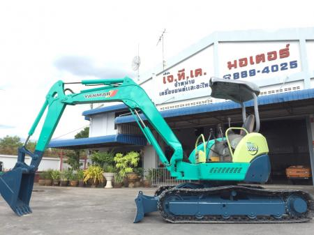 รถขุด Yanmar VIO40 Global มือสองนำเข้าจากญี่ปุ่น ทำสีใหม่ ไม่เคยผ่านการใช้งานในไทย มีเอกสารนำเข้าครบ