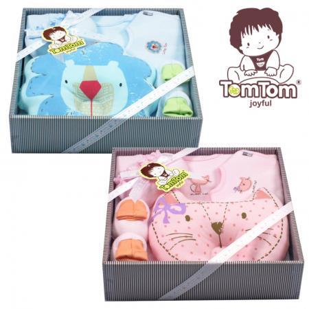 ชุดของขวัญเสื้อผ้า 5 ชิ้น(เด็กแรกเกิด 0-6 เดือน) TomTom joyful