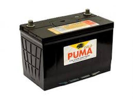 แบตเตอรี่รถกระบะ เครื่องยนต์ 2500-3000 ซีซี - แบตเตอรี่ PUMA - 115D31R เป็นแบตเตอรี่ชนิดแห้ง ปิดสนิทไม่ต้องเติมน้ำกลั่น ตลอดอายุการใช้งาน มีค่ากำลังสตาร์ทสูง จุแอมป์ได้มากกว่า เหมาะสำหรับรถยุโรป รถที่ต้องการกำลังไฟสูง รถเล่นเครื่องเสียง ไม่ว่าจะเป็น รถกระ