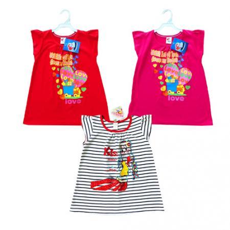 ชุดกระโปรงเด็กผู้หญิง สำหรับ อายุประมาณ 3-4 ขวบ