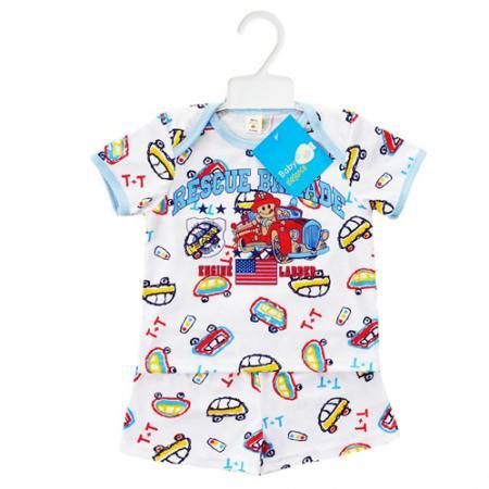 ชุดเด็กชาย อายุ 6-9 เดือน เนื้อผ้า: Cotton 100%