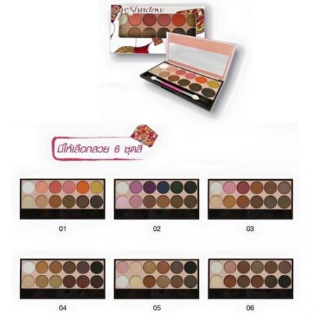 Eyeshadow 12 โทนสี