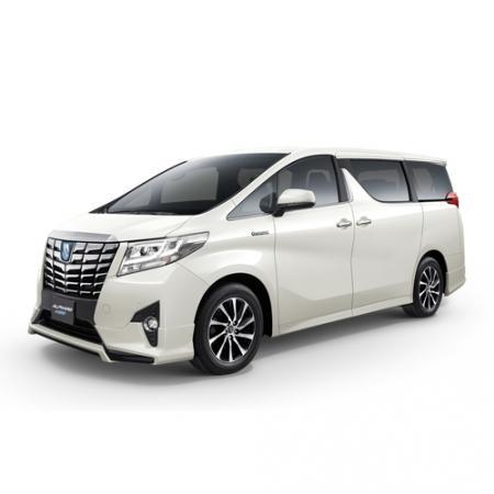 Toyota alphard รุ่น hybrid src 2016<br>เกียร์ออโต้
