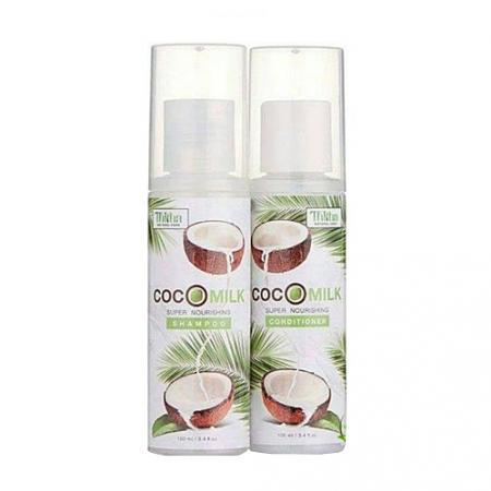แชมพูมะพร้าว Cocomilk ชุดเล็ก (ชุดทดลองใช้)
