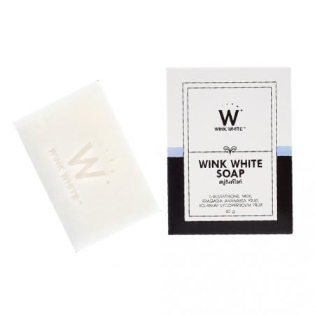 WINK WHIYE SOAP ผลัดเซลล์ผิวเก่า เผยผิวขาวใส